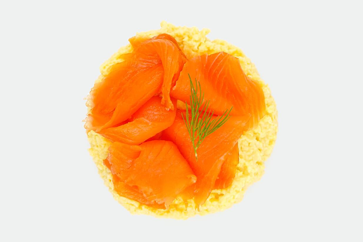 Oeufs brouillés saumon
