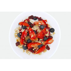 Porridge Vegan Red power summer