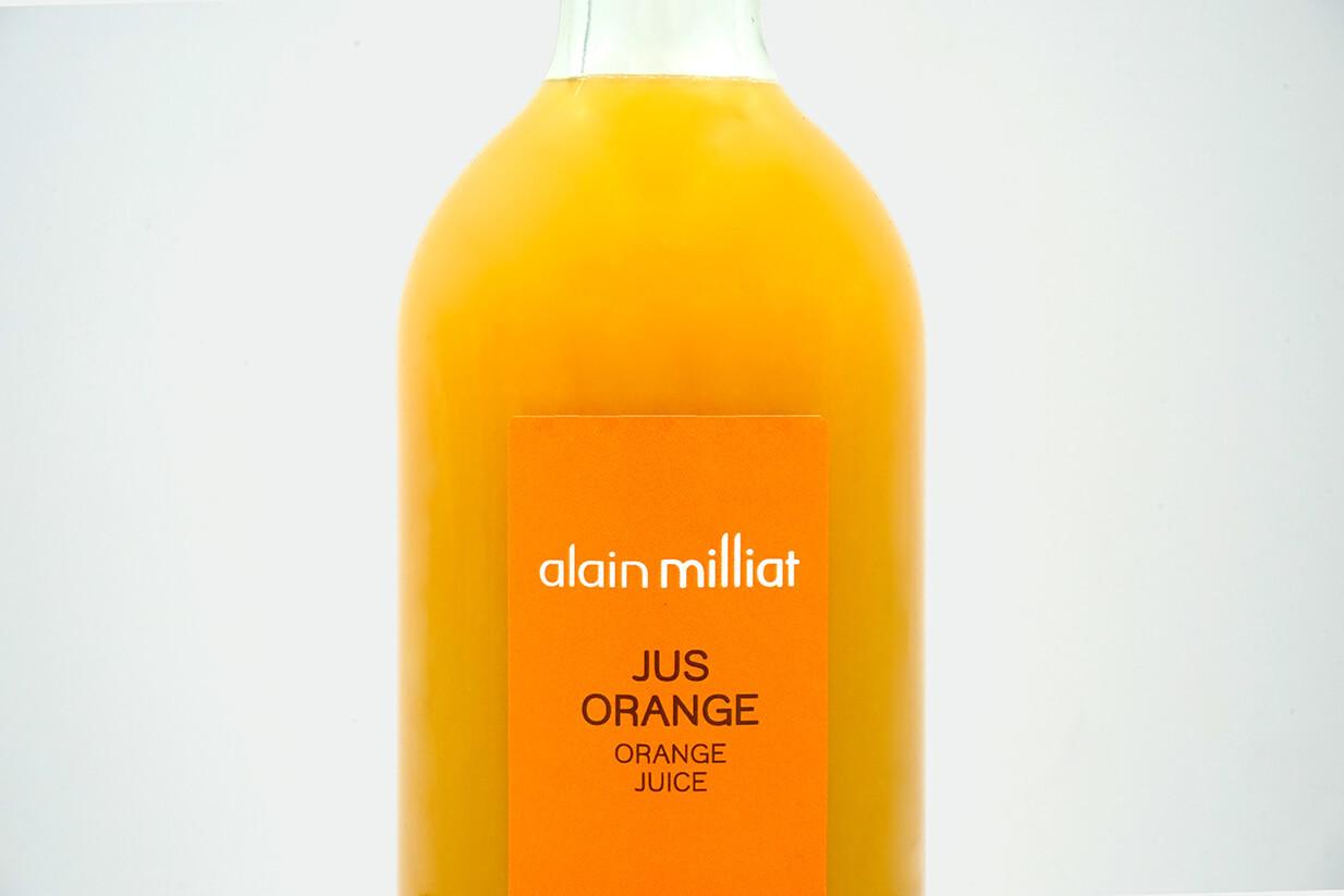 Jus orange alain milliat