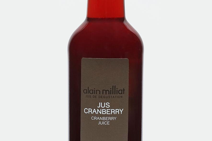 Jus cranberry alain milliat
