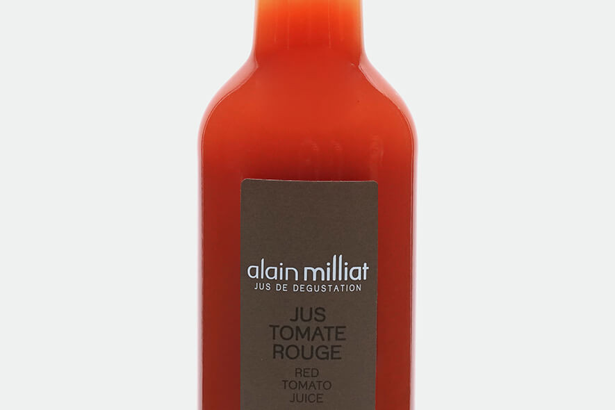 Jus tomate rouge alain milliat