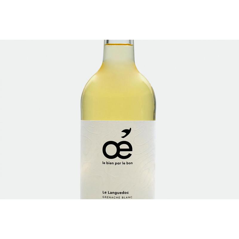 Vin blanc bio, oe le languedoc