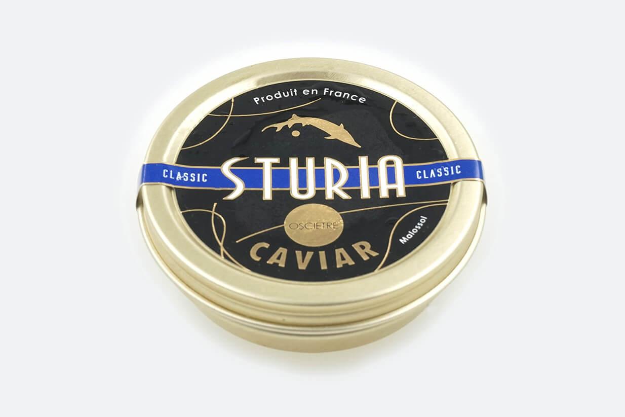 Caviar Osciètre 50g Sturia