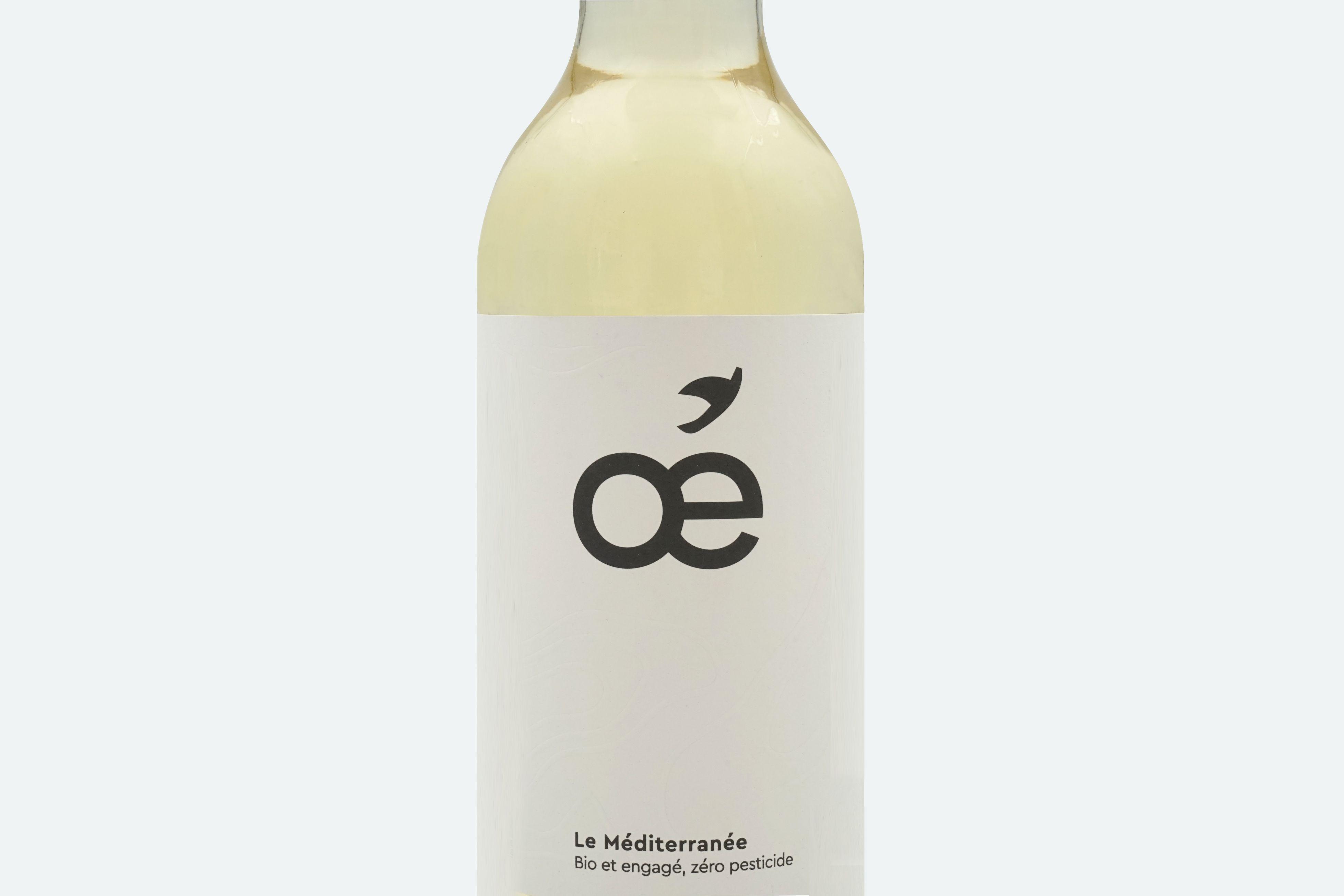 Vin blanc bio Méditerranée...