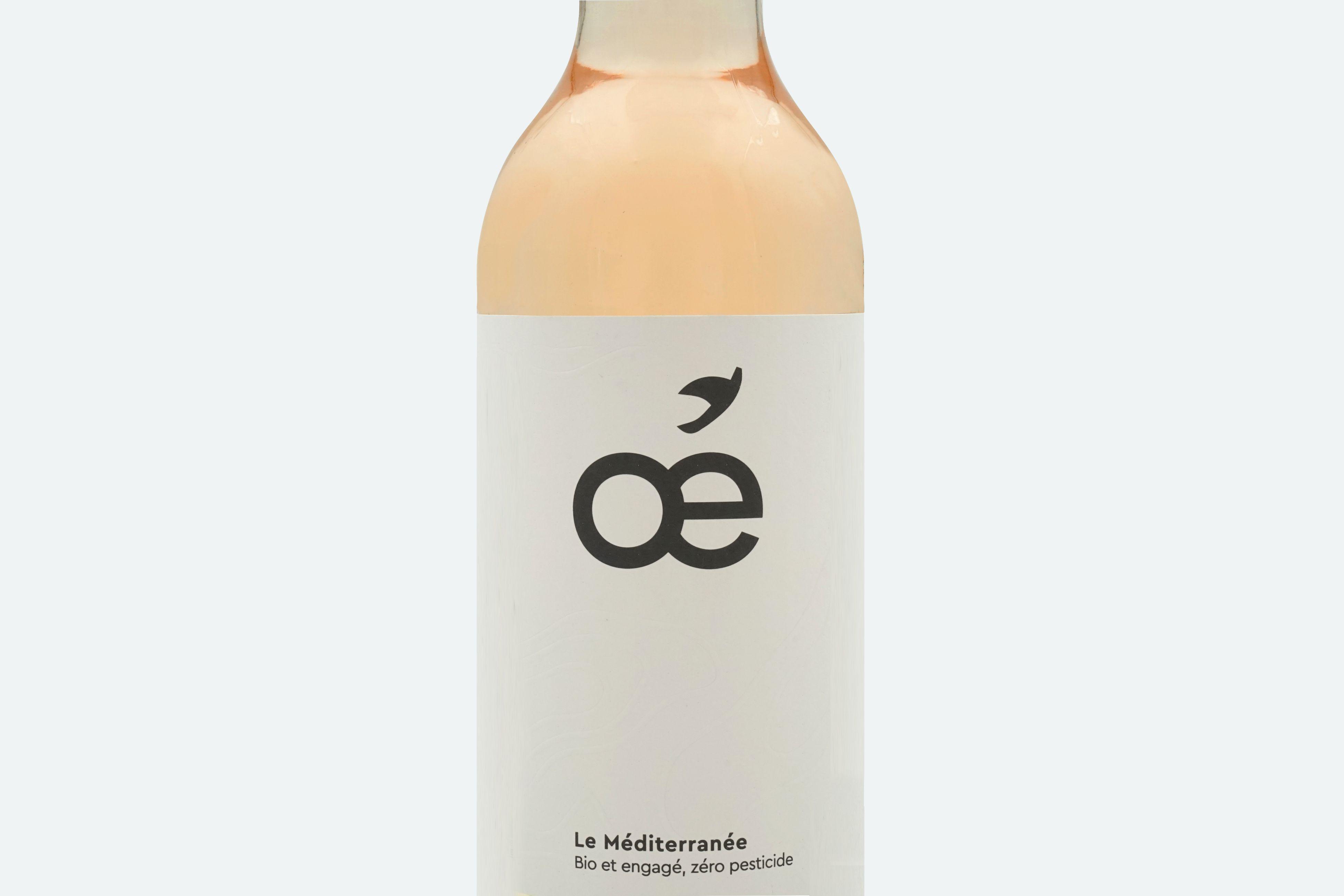 Vin rosé bio Méditerrannée...