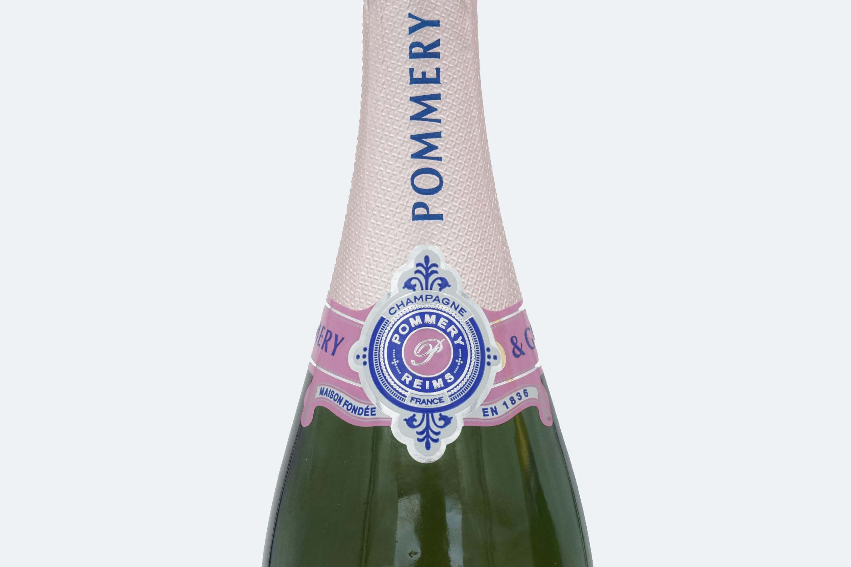 Champagne brut rosé Pommery...